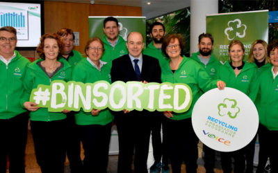 Minister Denis Naughten launches Ireland's new Recycling Ambassador Programme.