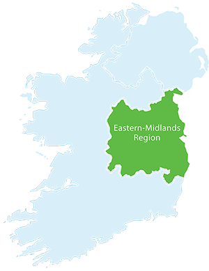 Map Of Ireland Midlands.About The Eastern Midlands Waste Region Eastern Midlands Western