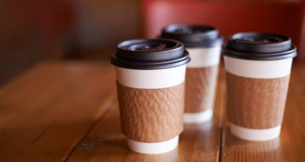 Single use coffee cups are not on Recycling List Ireland