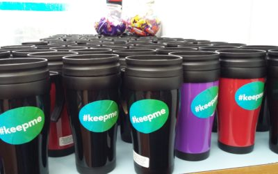Reusable cups trending in DCU